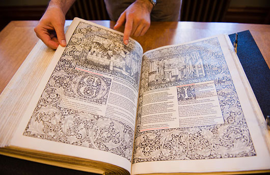 UBC Library acquires copy of 'the most beautiful of all printed books'