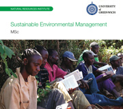Scholarship opportunities for MSc Sustainable Environmental Management