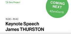 Keynote Speech of James Thurston at Zero Project