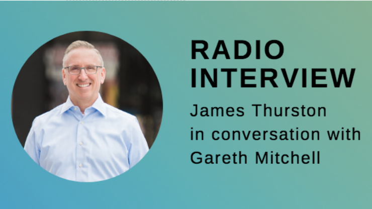 Radio Interview of James Thurston, his headshot