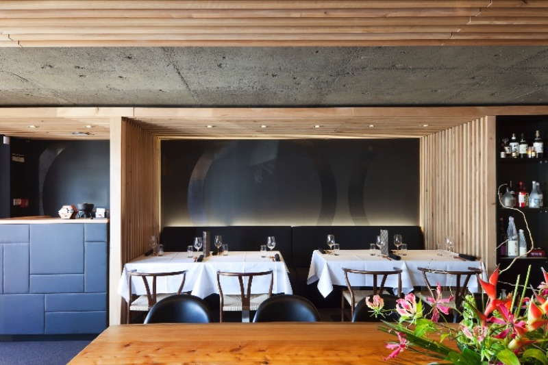 Interior Cocoro Restaurant