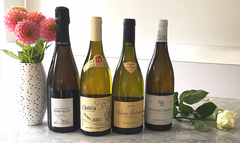 Peter Maude Fine Wines Whites Selection