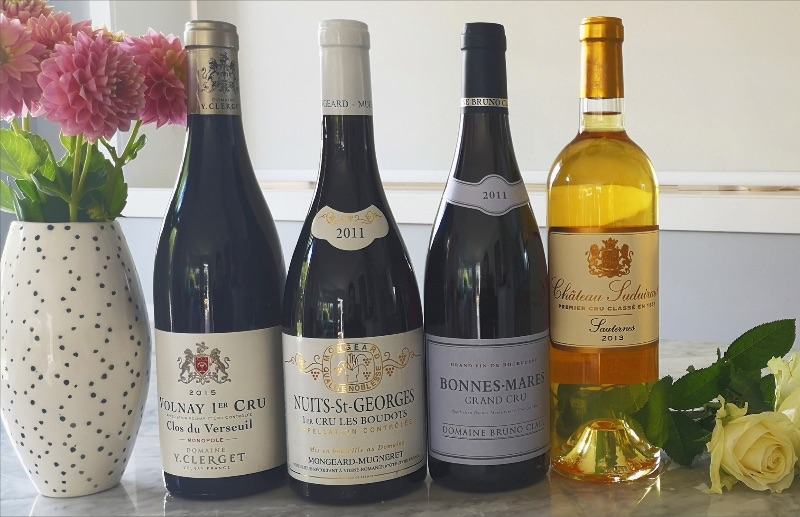 Peter Maude Fine Wines Red Selection and Sauternes