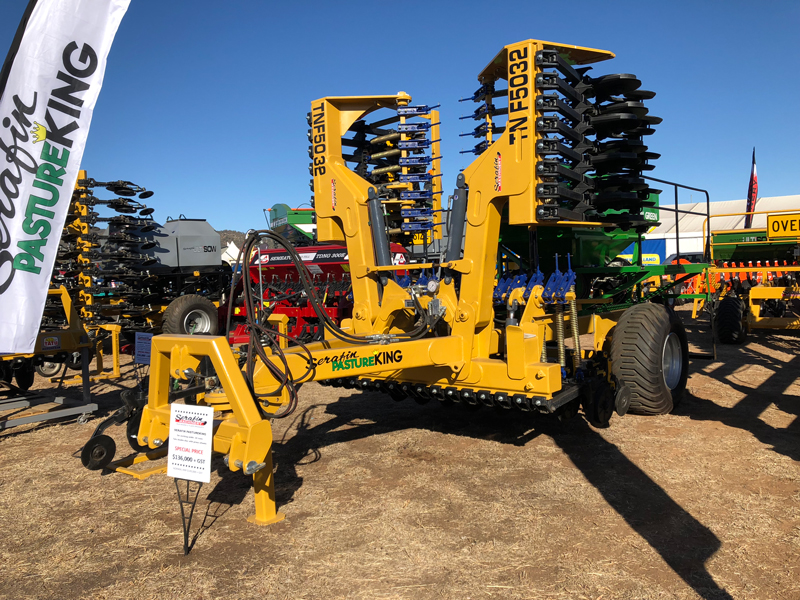 We have a new site at Henty Machinery Field Days -