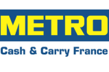 Logo METRO bords blancs