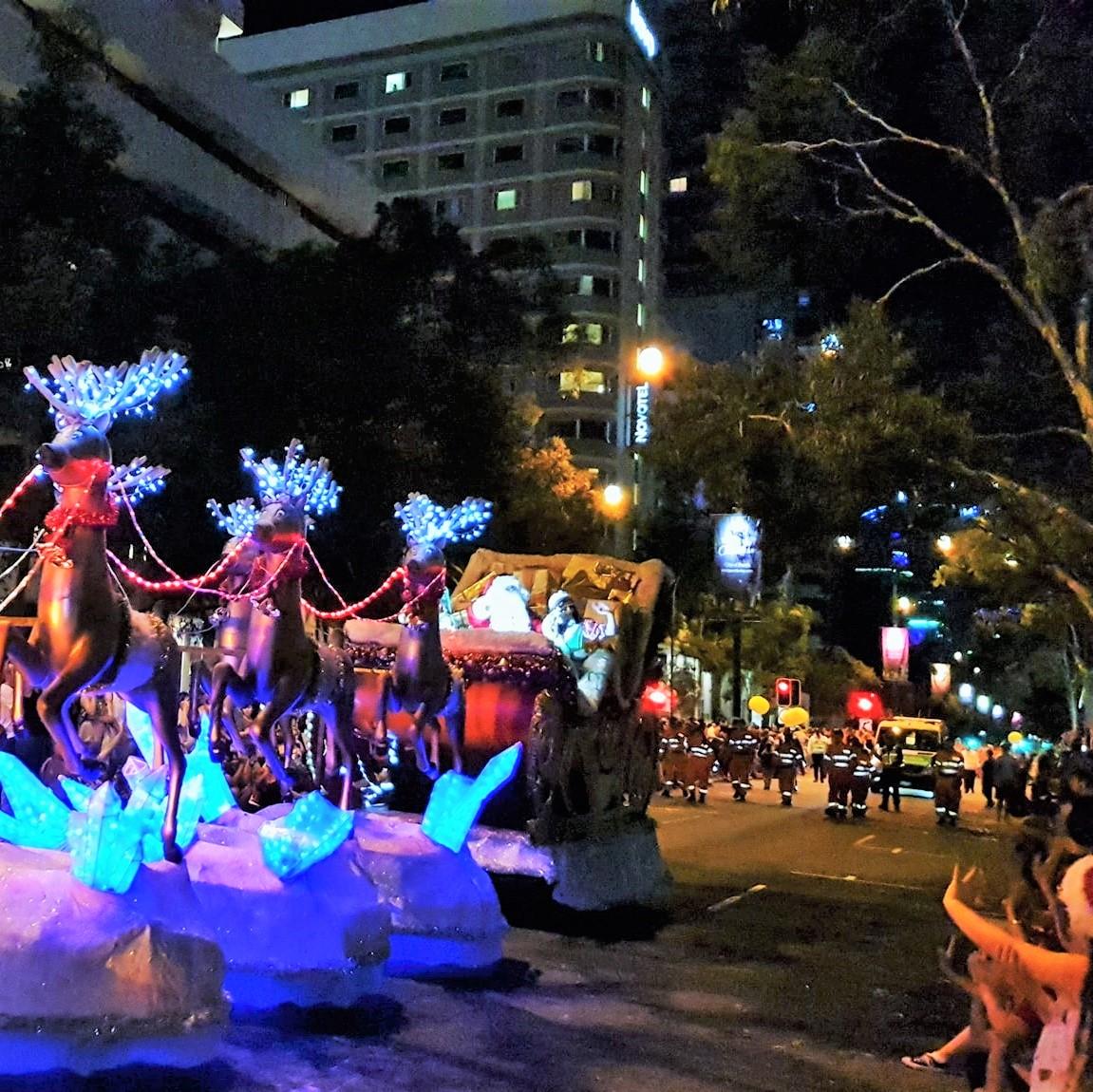 RAC Christmas Pageant, Perth CBD, 1 December