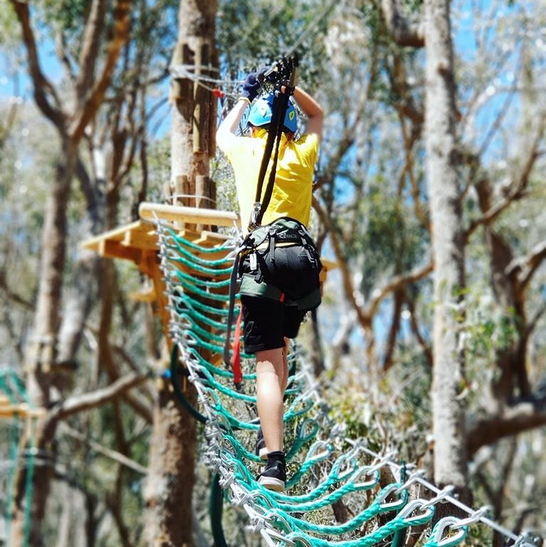 Trees Adventure, Yanchep National Park, Yanchep