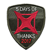 5 DAYS OF THANKS