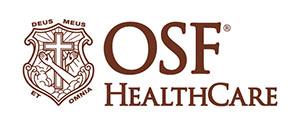 OSF HealthCare logo.