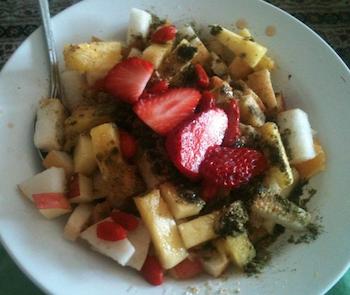 Raw Food Breakfast