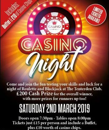 Casino Night at the Tenterden Club