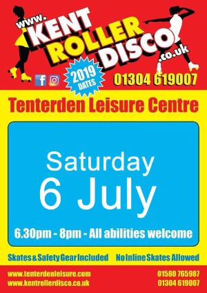 Roller Disco Tenterden Leisure Centre