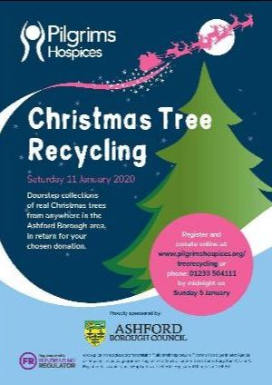 Christmas Tree Recycling in Tenterden