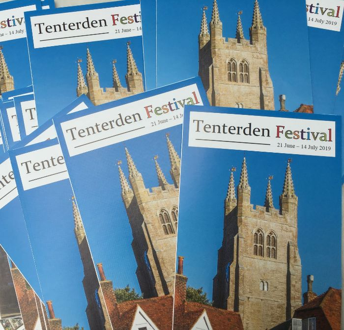 Tenterden Festival brochure