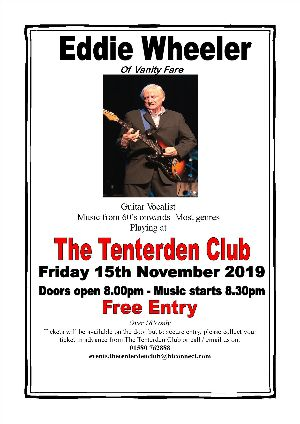 Live Music at the Tenterden Club