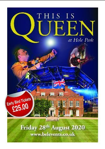 This is Queen at Hole Park - Summer Concert