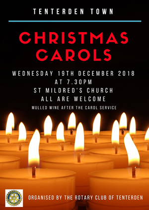 Tenterden Christmas Carols 2018