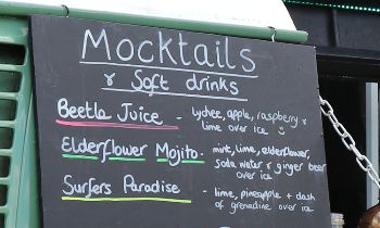 Mocktails by Beetle Juice at Spirit