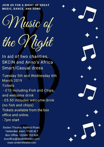 Music of the Night at The Sinden Theatre