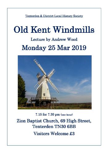 Tenterden Local History Society lecture