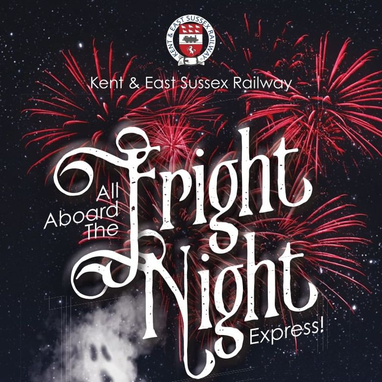 Fright Night Express train from Tenterden Town Station