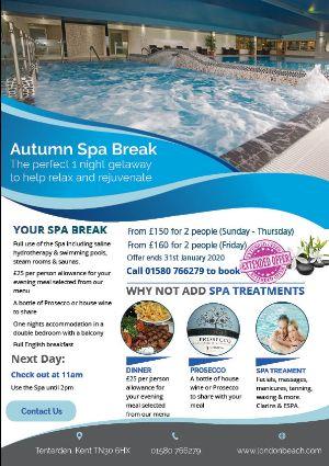 London Beach Spa Break
