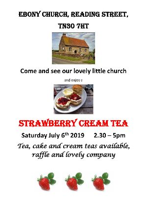 Ebony Church Strawberry Cream Tea