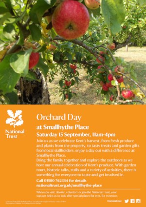 Smallhythe Place Orchard Day 2018
