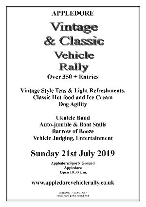 Classic Car Rally Appledore
