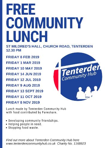 Free Community Lunches in Tenterden
