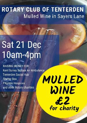 Tenterden Rotary Club Mulled Wine