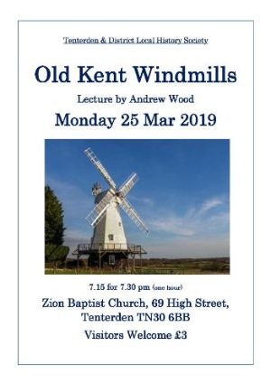 Old Kent Windmills History Society Lecture