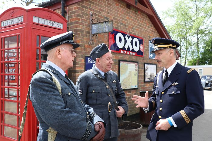 1940s Weekend Tenterden Town Station
