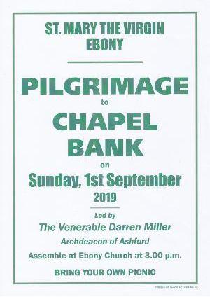 Ebony Pilgrimage to Chapel Bank