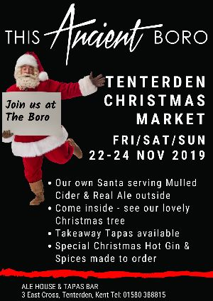 This Ancient Boro at the Tenterden Christmas Market