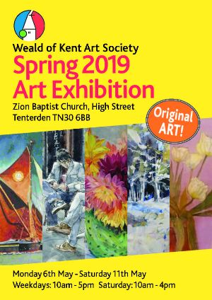 Weald of Kent Spring Art Exhibition