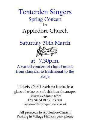 Tenterden Singers Concert