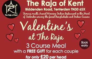Valentines The Raja of Kent