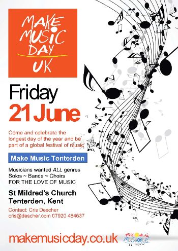 Make Music Day Tenterden