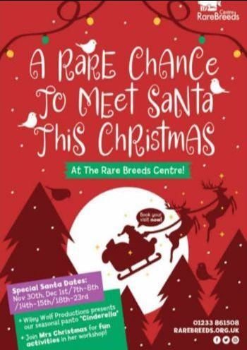 Father Christmas Grotto at the Rare Breeds Centre