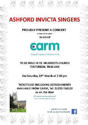 Ashford Invicta Concert in Tenterden