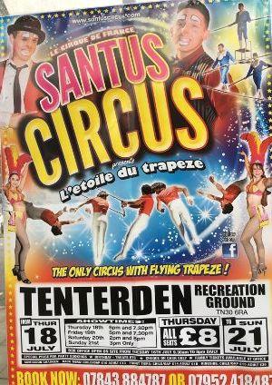 Circus in Tenterden