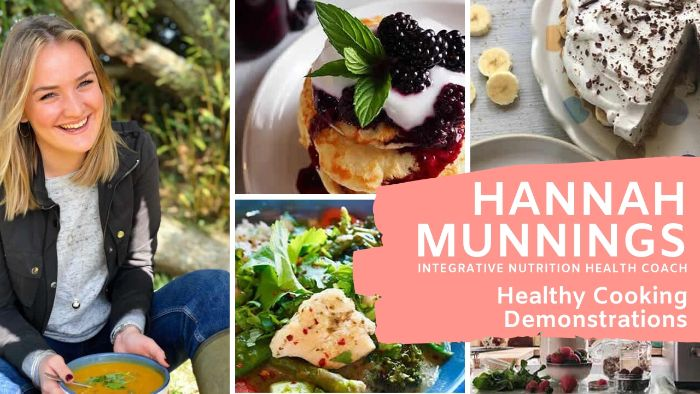 Healthy Cooking Demonstrations with Hannah Munnings