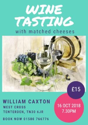 Wine Tasting William Caxton