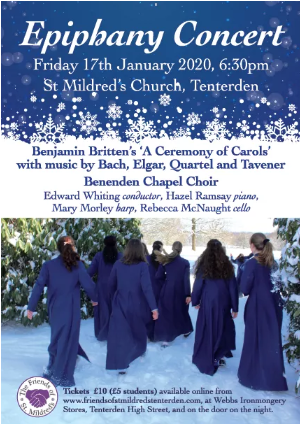 Epiphany Concert for the Friends of St Mildreds Church