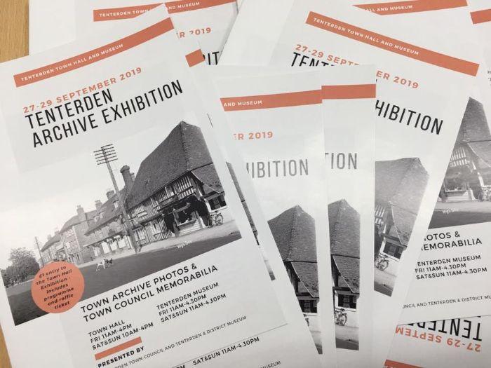 Tenterden Archive Exhibition Programme