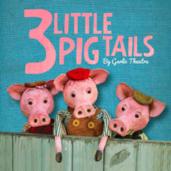 Three Little Pig Tails at Smallhythe Place
