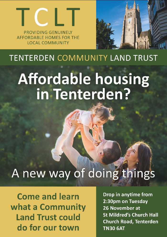 Tenterden Community Land Trust - Affordable Homes in Tenterden