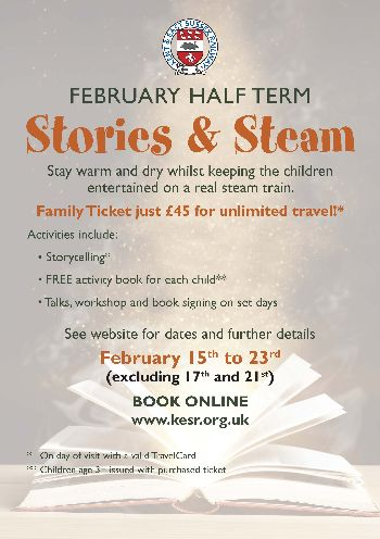 Stories and Steam February Half-Term