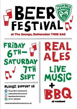 Beer Festival for Team Ben Hammond